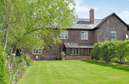 Last Minute Cottages - Beautiful Taunton And The Quantocks Lodge S20245