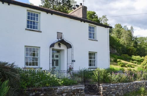 Big Cottages - Charming Hawkshead, Near And Far Sawrey Cottage S18515