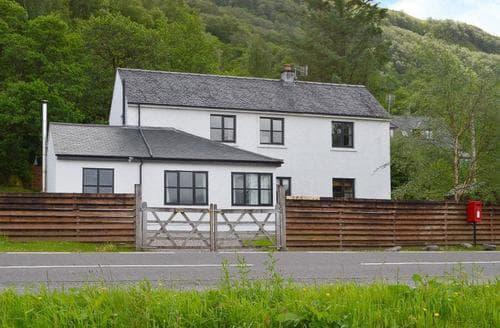 Big Cottages - Excellent Glencoe Cottage S22573