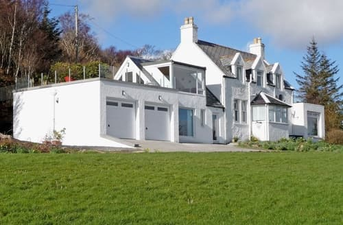 Big Cottages - Quaint Sligachan Lodge S22552