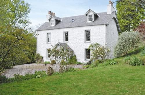 Dog Friendly Cottages - Gorgeous Pitlochry Cottage S34817