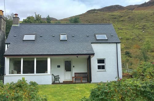 Big Cottages - Excellent Kyle Of Lochalsh Cottage S121929