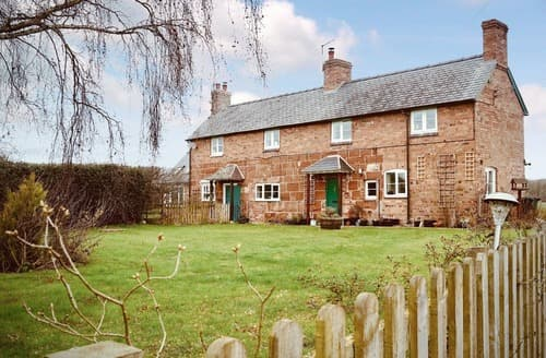 Last Minute Cottages - Stunning Shrewsbury Cottage S121184