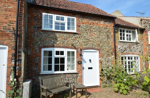 Last Minute Cottages - Exquisite Holt Cottage S128278
