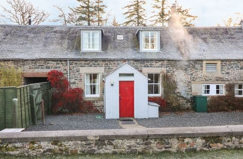 Last Minute Cottages - Adorable Peebles Cottage S128712