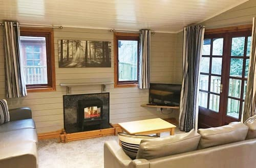 Last Minute Cottages - Luxury Godshill Lodge S128827