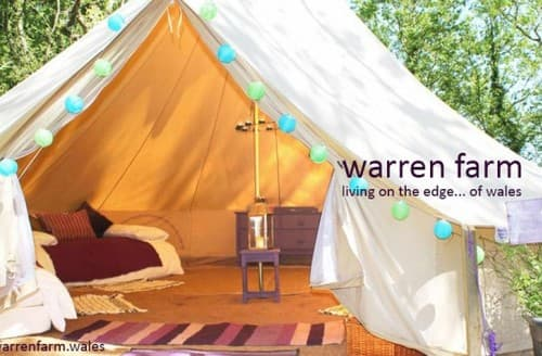 Last Minute Cottages - Bell Tents At Warren Farm 2