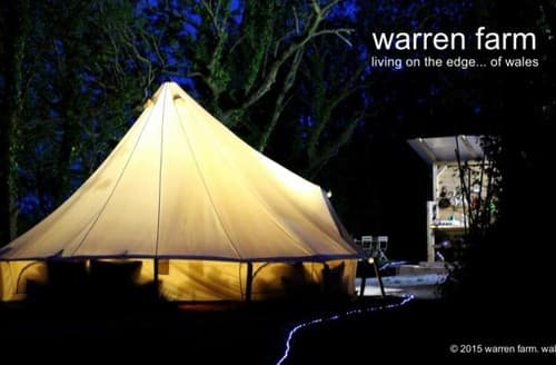 Last Minute Cottages - Bell Tents At Warren Farm