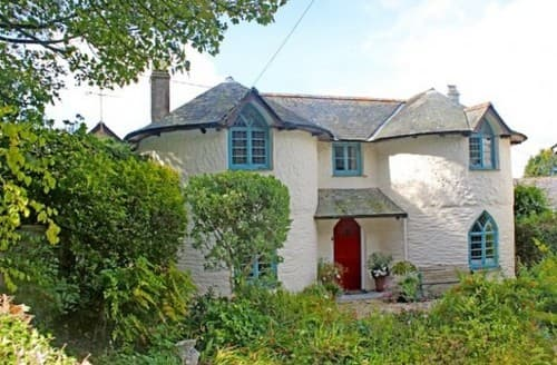 Last Minute Cottages - The Roundhouse, Philleigh S131647