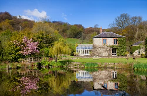 Last Minute Cottages - Beautiful Combe Raleigh Nr Honiton Cottage S133351