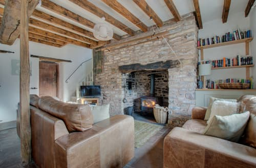 Last Minute Cottages - Delightful Brecon Lodge S133724