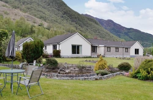 Big Cottages - Luxury Glencoe Cottage S22597