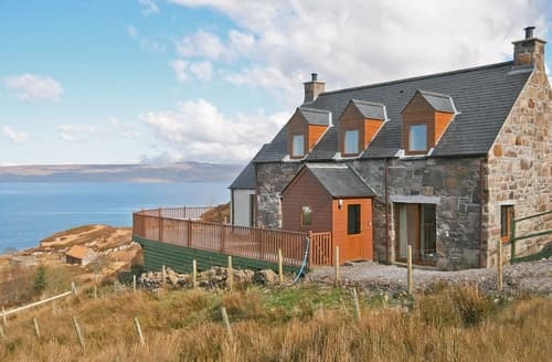 Big Cottages - Luxury Applecross Cottage S24287