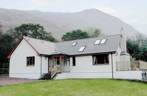 Big Cottages - Attractive Glencoe Lodge S22579