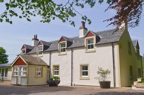 Big Cottages - Attractive Inverness Lodge S39446
