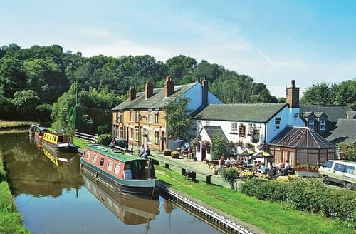 Last Minute Cottages - Caldon Canal Cottage - E3975