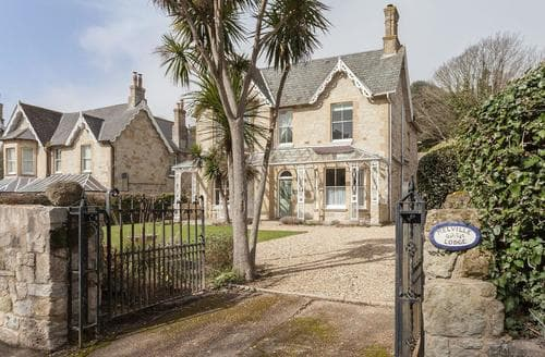 Big Cottages - Excellent Ventnor Lodge S94198