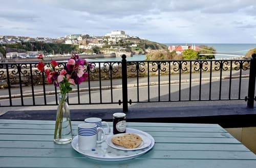 Last Minute Cottages - Adorable Newquay Apartment S132955