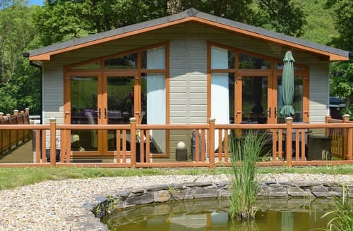 Last Minute Cottages - Inviting New Quay Lodge S101211