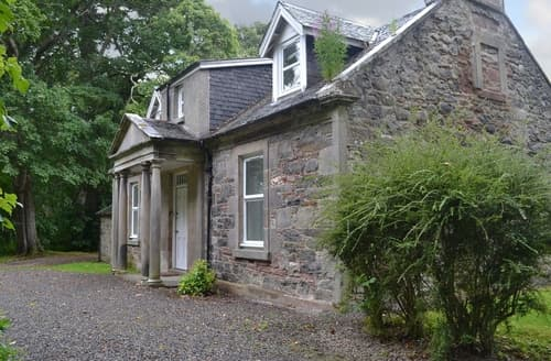 Big Cottages - Gorgeous Beauly Lodge S42006
