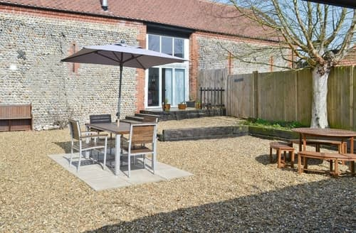 Big Cottages - Excellent North Walsham Cottage S17566