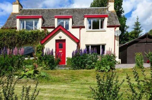 Big Cottages - Tasteful Kingussie Cottage S6656