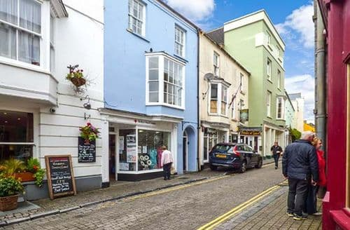 Dog Friendly Cottages - Inviting Tenby Apartment S9451