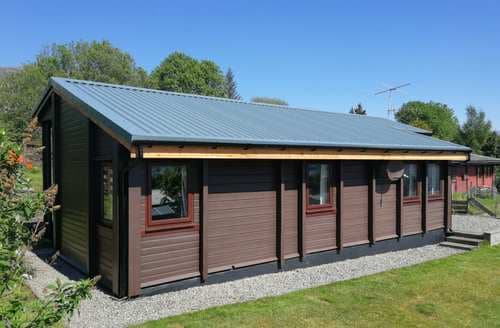Big Cottages - Luxury Lochcarron Lodge S43994