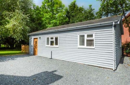 Last Minute Cottages - Cosy Penybont Lodge S70513