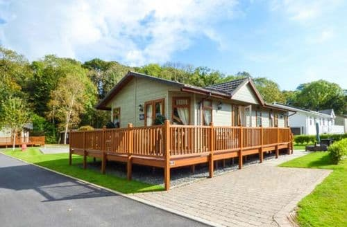 Big Cottages - Stunning Narberth Lodge S71477
