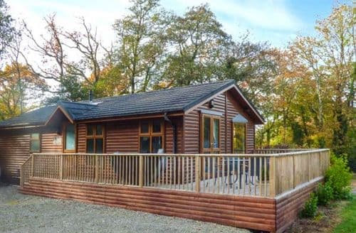 Last Minute Cottages - Luxury Narberth Lodge S73042