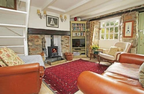 Last Minute Cottages - Wonderful Pentewan Cottage S82136