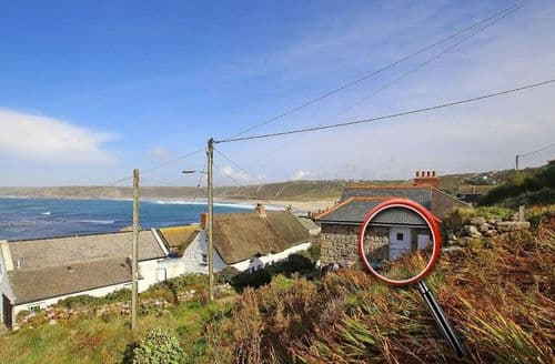 Last Minute Cottages - Excellent Sennen Cove Cottage S82372