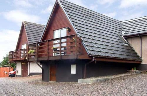 Last Minute Cottages - Lovely Strathpeffer Chalet S4845