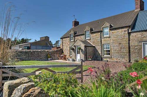 Big Cottages - Superb Berwick Upon Tweed Farmhouse S3292