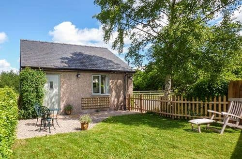 Last Minute Cottages - Beautiful Pandy Lodge S33761