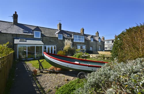 Last Minute Cottages - Charming Warkworth & Amble Area Cottage S134817