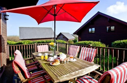 Last Minute Cottages - Beech Lodge - Retallack Resort