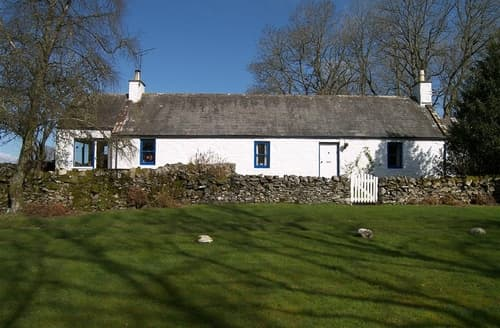 Last Minute Cottages - Captivating Castle Douglas Cottage S135471