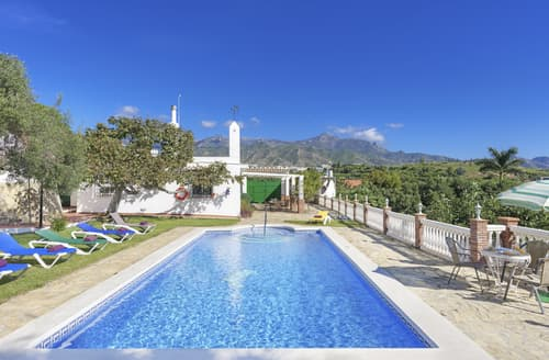 Last Minute Cottages - Villa Rio Seco
