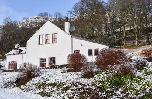 Big Cottages - Charming Balquhidder Cottage S136987