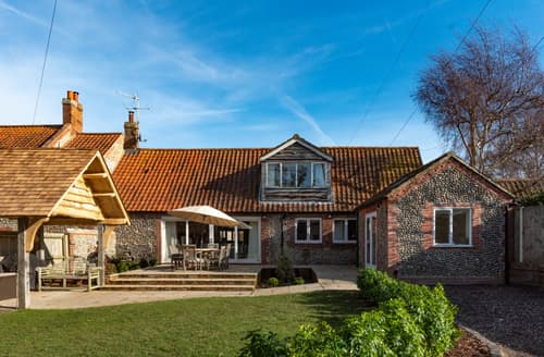 Big Cottages - Superb Blakeney Cottage S137187