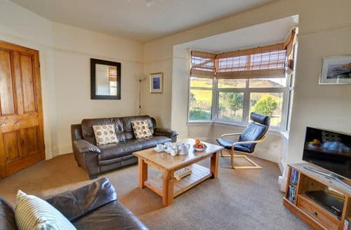 Last Minute Cottages - Delightful Mortehoe Apartment S153906