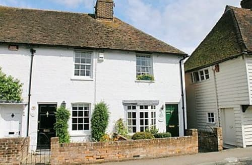Last Minute Cottages - Delightful Canterbury Cottage S13576