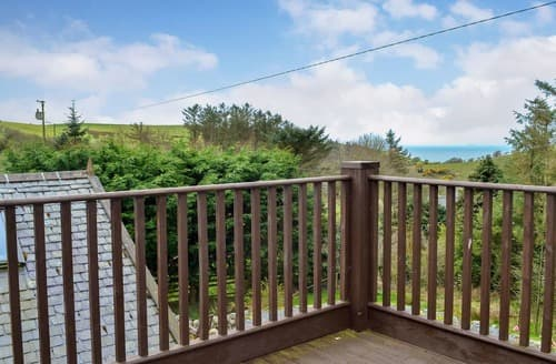 Last Minute Cottages - Cosy Portpatrick Lodge S162132