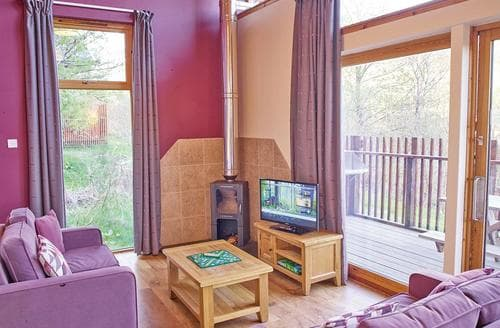 Big Cottages - Strathyre Golden Oak 3