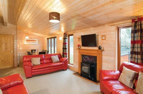 Big Cottages - Larches Deluxe 4 Lodge