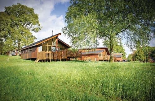 Last Minute Cottages - Forest of Dean Golden Oak 3 Meadow Cabin (Pet)