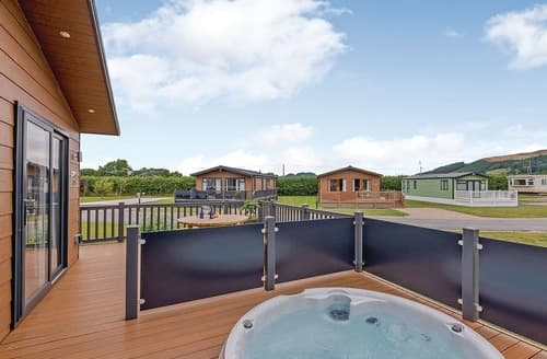 Last Minute Cottages - Cosy Caersws Lodge S106478