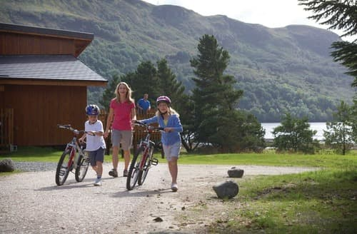 Last Minute Cottages - Golden Oak Lochside 3 (Pet)
